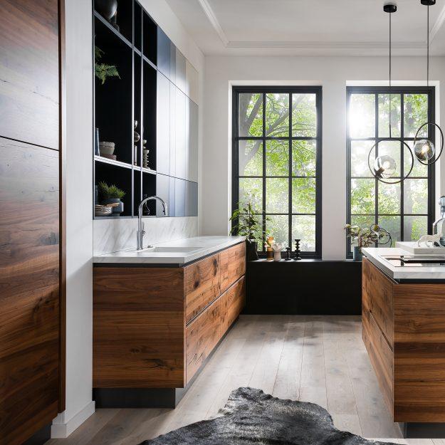 Inpura Design Kueche Holz weiss